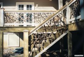 Deck Stairs Railings
