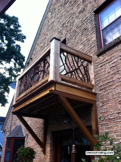Ulisa build shed under deck stairs for Balcony dictionary